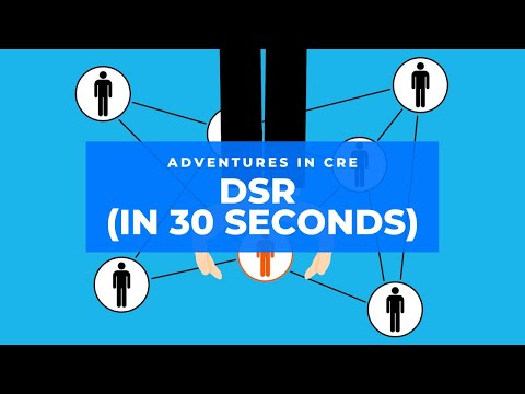 How to Calculate Debt Service Coverage Ratio - 30 Second CRE Tutorials