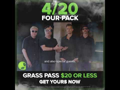 HAPPY 420 GRASS PASS for the Never-Ending Summer Tour