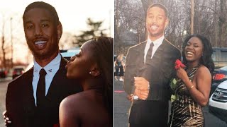 Teen Goes to Prom With Michael B. Jordan Cardboard Cutout thumbnail