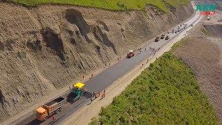 43 км горной дороги за 100 млн долларов. Видео с дрона.