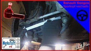 ►Renault Kangoo◄ Spurstangenkopf wechseln [Replace Tie Rod End] ◢WERKSTATT-TV◣