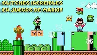 Los Glitches más Increíbles y Locos en Juegos de Mario - Pepe el Mago