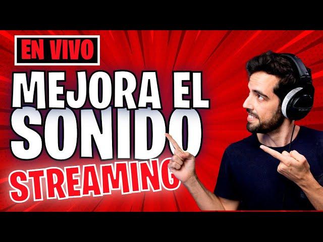 Mejorar el sonido del Streaming | con @Hoy Grabo
