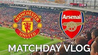 Matchday Vlog! | Manchester United 2-1 Arsenal | Fellaini's Late Winner!!