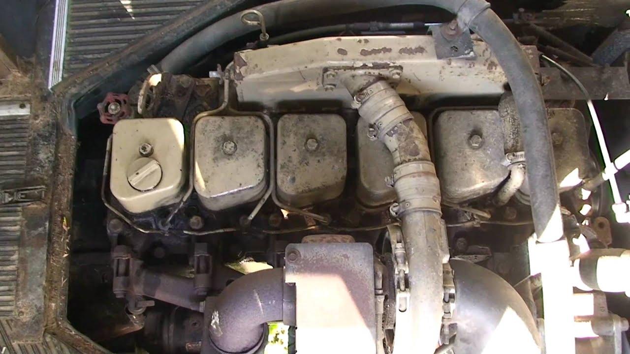 5 9 Cummins 6 Cilinder Turbo Diesel Motor Youtube