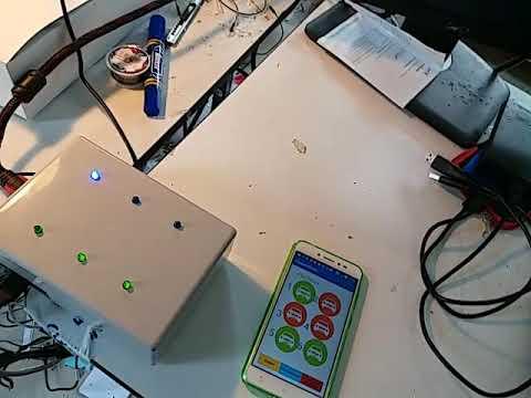 ระบบลานจอดรถ Image processing แจ้งเตือนผ่าน App RaspberryPi