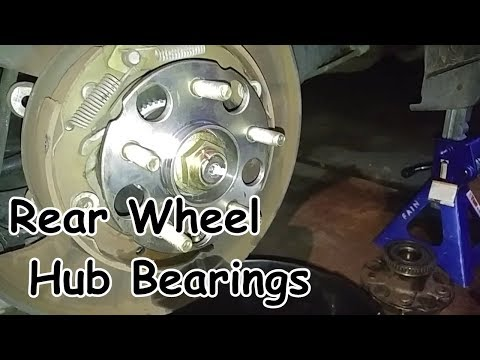 Honda Odyssey Rear Wheel Hub Bearings Replacement