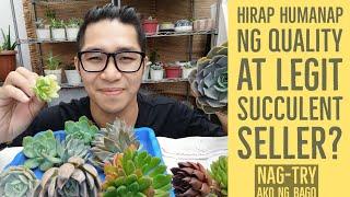Bagong Legit Succulent Benguet Seller - Unboxing Video