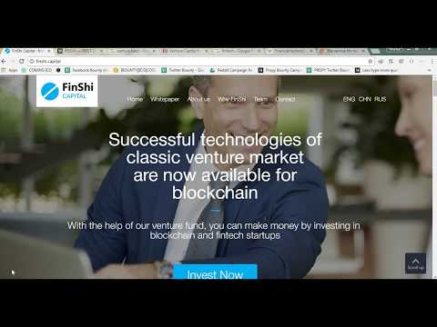 FINSHI CAPITAL - THE FIRST CRYPTO VENTURE CAPITAL