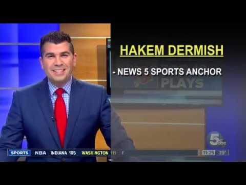 Hakem Dermish, News 5 sports anchor
