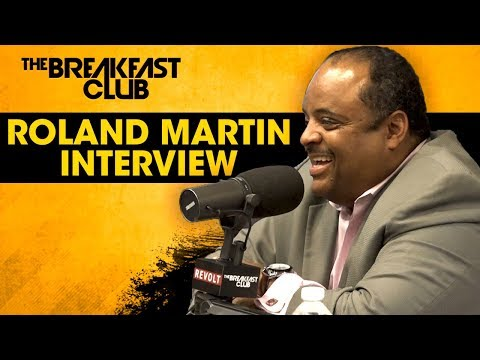 Roland Martin Honors Aretha Franklin, Discusses His New Show + More