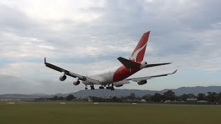 Qantas Boeing 747-400 VH-OJA final flight