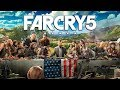 FAR CRY 5 All Cutscenes MOVIE with All ENDINGS & Boss Fights (PS4 PRO 1080p 60FPS)
