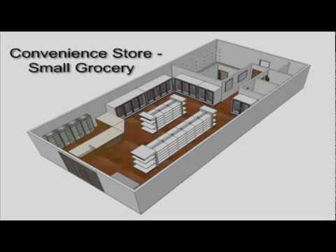 Design Ideas for Your Small Market - YouTube