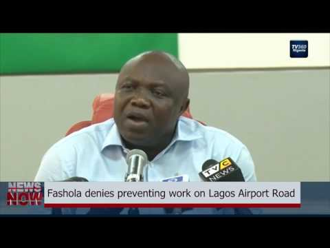 War of Ego: Fashola denies preventing work on Lagos Airport Road, says Ambode lied (Nigerian News)