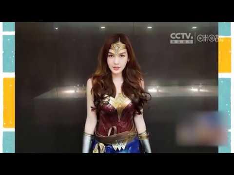 """泰国变性人cos""""神奇女侠"""" 网友直呼:""""比正版盖尔·加朵还美!"""