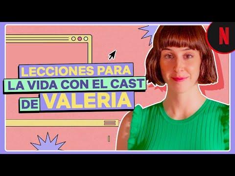 Guía para la vida con el cast de Valeria