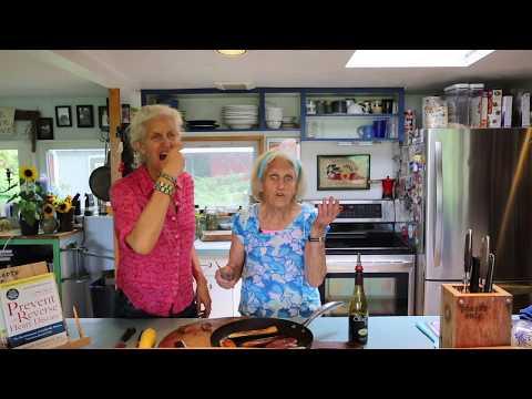 Frying Zucchini Slabs!
