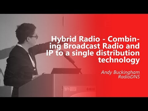 Hybrid Radio - Combining Broadcast Radio and IP to a single distribution technology. Andy Buckingham