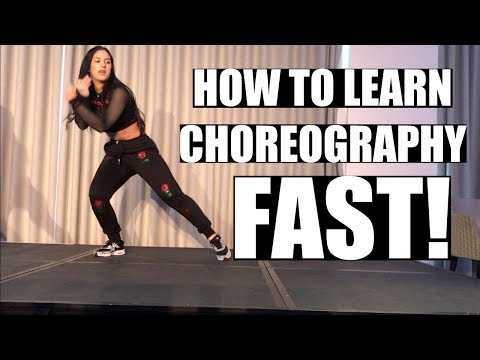 HOW TO LEARN CHOREOGRAPHY FASTER!! Dance Advice 💃