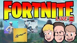 FORTNITE EN VIVO (EN VIVO) Nuevas actualizaciones: Pieles, Armas y Modos Juegos para toda la familia Live Stream