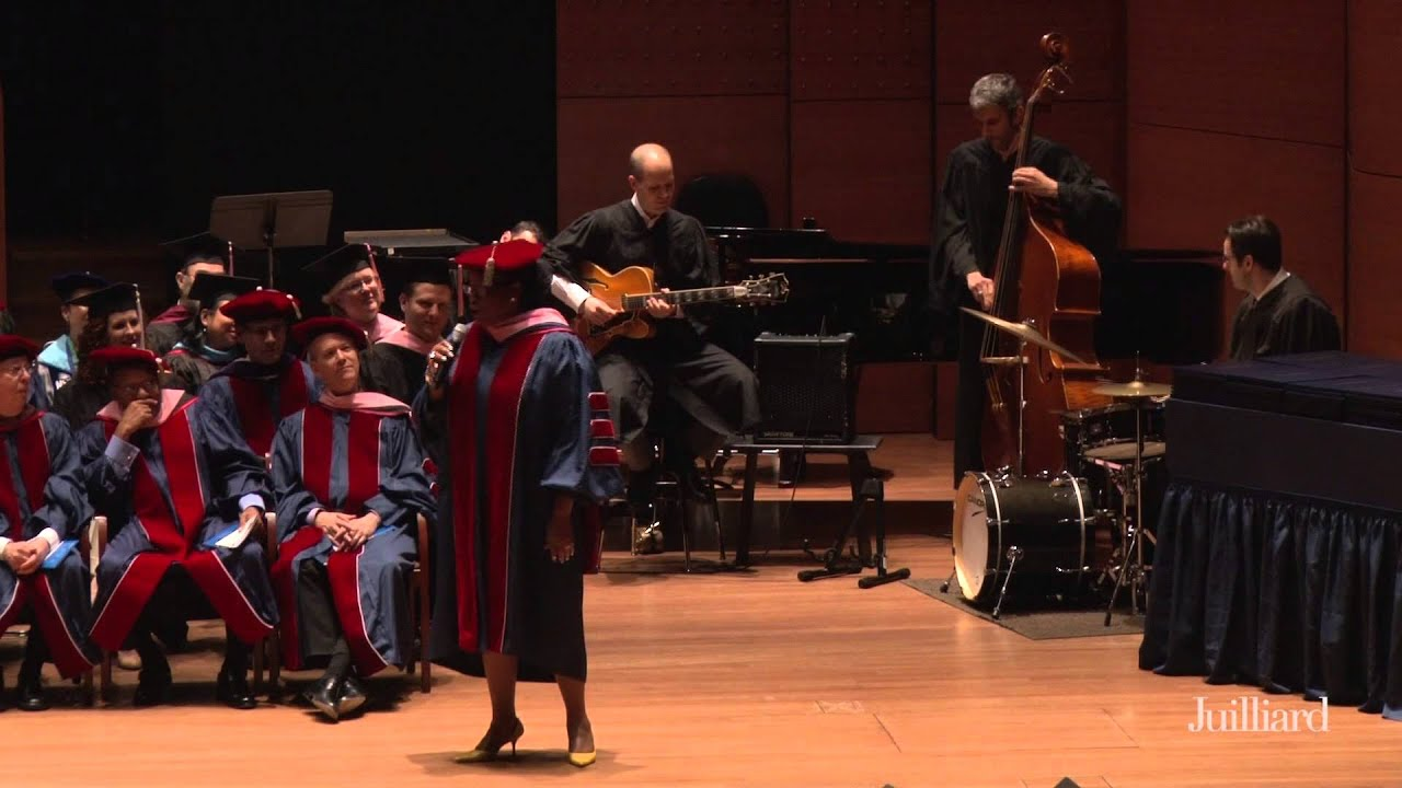 "Juilliard Commencement 2015 -- Dianne Reeves Performs ""Skylark,"" May 22, 2015"