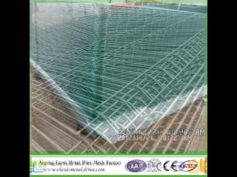 Powder Coating Mesh fence panels from Anping Fansi
