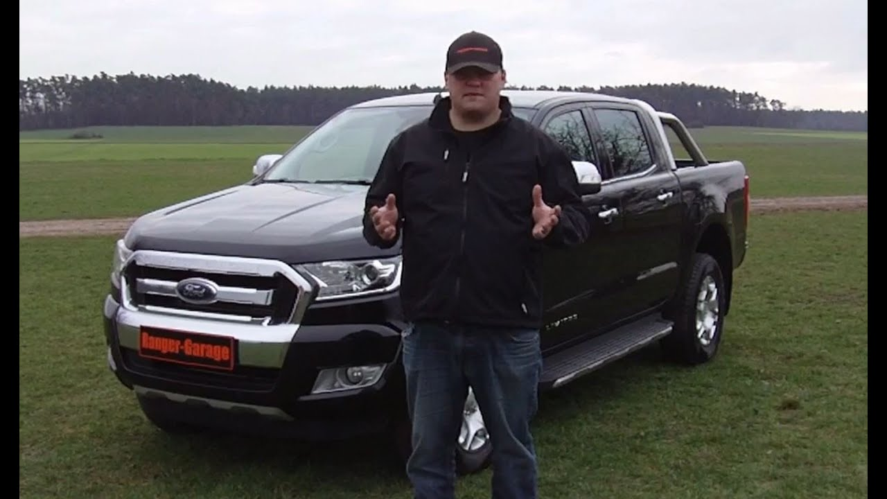 ford ranger limited neues modell  neuwagen praesentation youtube