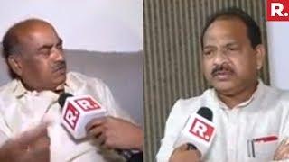 Diwakar Reddy &  Thota Narasimham Speak To Republic TV | #TDPPullsOut
