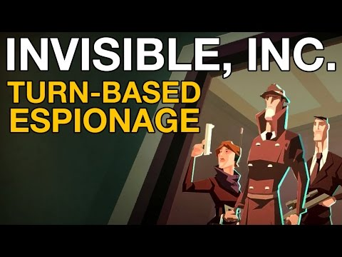 Invisible, Inc. Gameplay - Turn-based Espionage - VideoGamer