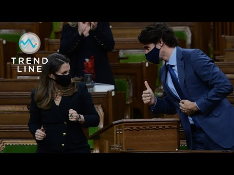 Trudeau's new budget lays out Liberal priorities for COVID-19… and the next election   TREND LINE