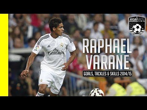 Raphael Varane |Goals, Tackles \u0026 Skills| HD | 2013 - 2015