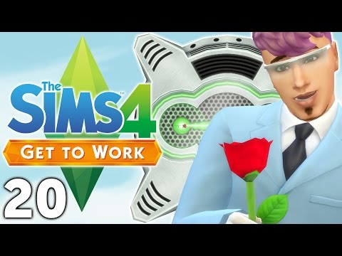 Let's Play The Sims 4 Get to Work - Part 20 - Cloning Machine!