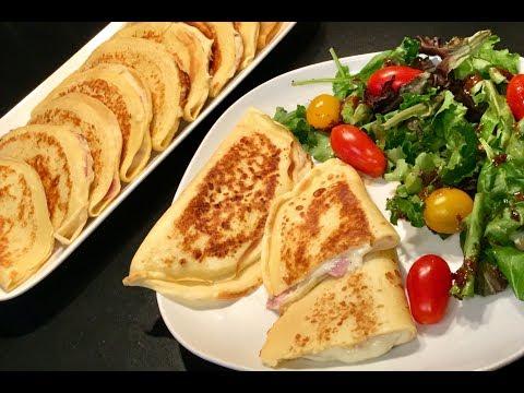 les-crÊpes-salÉs-au-jambon-fromage
