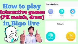 How to play pk game in bigo live app. Complete process discussed......!