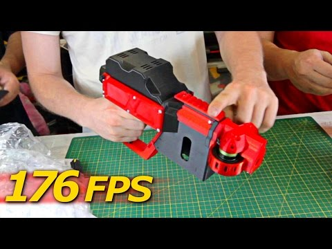 NERF Review - FDL2: Select fire, 3D Printed, Brushless Motors with WiFi