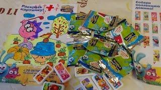 акция смешарики в ленте супер домино часть 2 promotion smeshariki the tape super dominoes