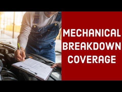 Mechanical Breakdown Coverage