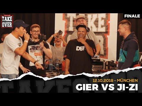 Gier vs. JI-ZI - Takeover Freestyle Contest | München 12.10.18 (Finale)