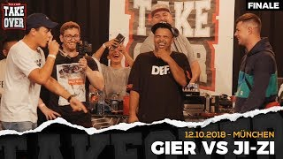 Gier vs. JI-ZI - Takeover Freestyle Contest | München 12.10.18 (Finale)