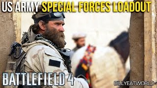 Battlefield 4 (PS4) - US Army Special Forces Loadout - The Green Berets (BF4 Gameplay)