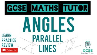 Angles in Parallel Lines   Grade 5+ Series   GCSE Maths Tutor