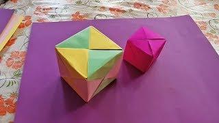 Simple to Make Paper Origami Box - Craft Ideas...Origami Envelope...