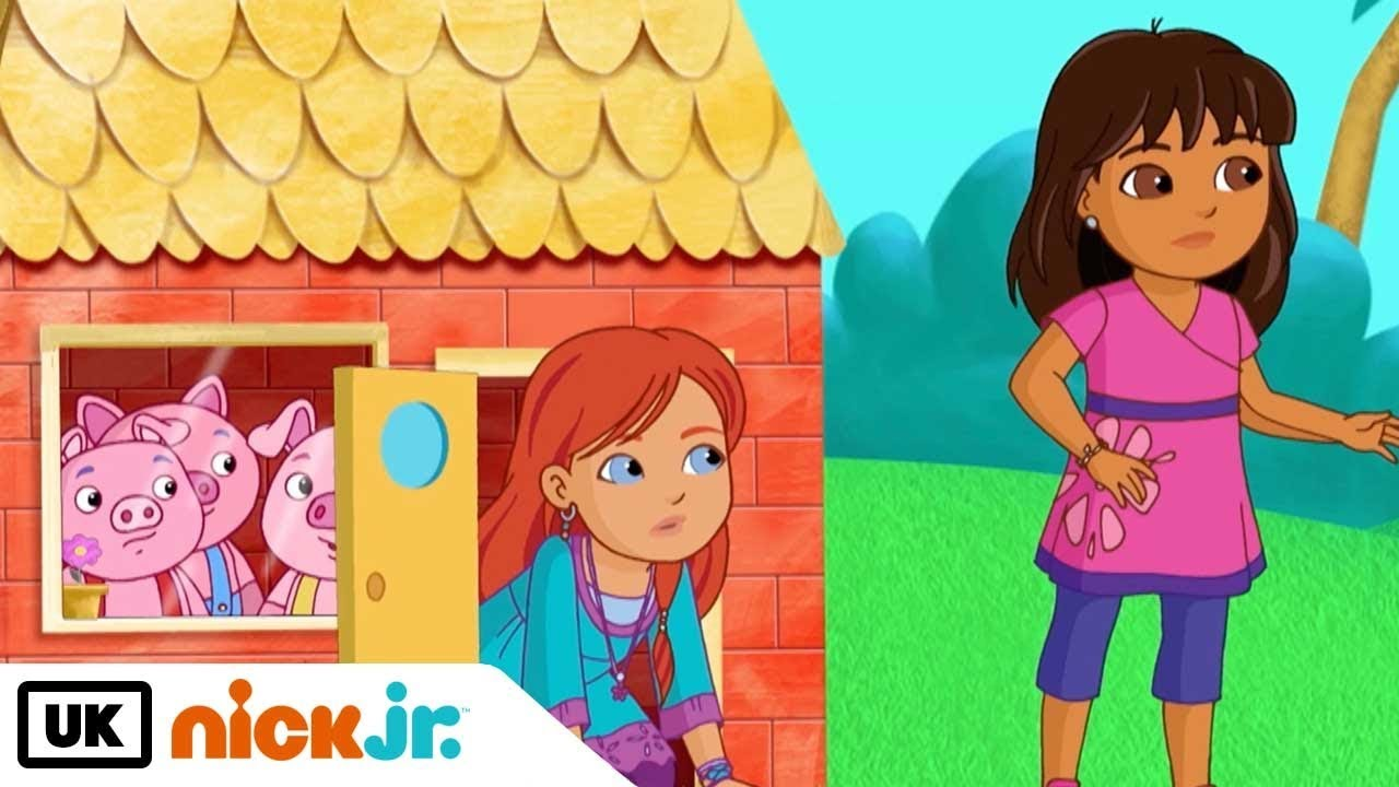 Download Dora and Friends | Big Bad Wolf | Nick Jr. UK