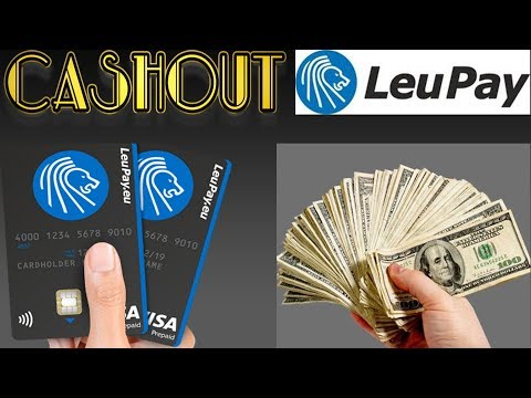Cashout Crypto Money With VISA Debit Card From LEUPAY (PART-9)