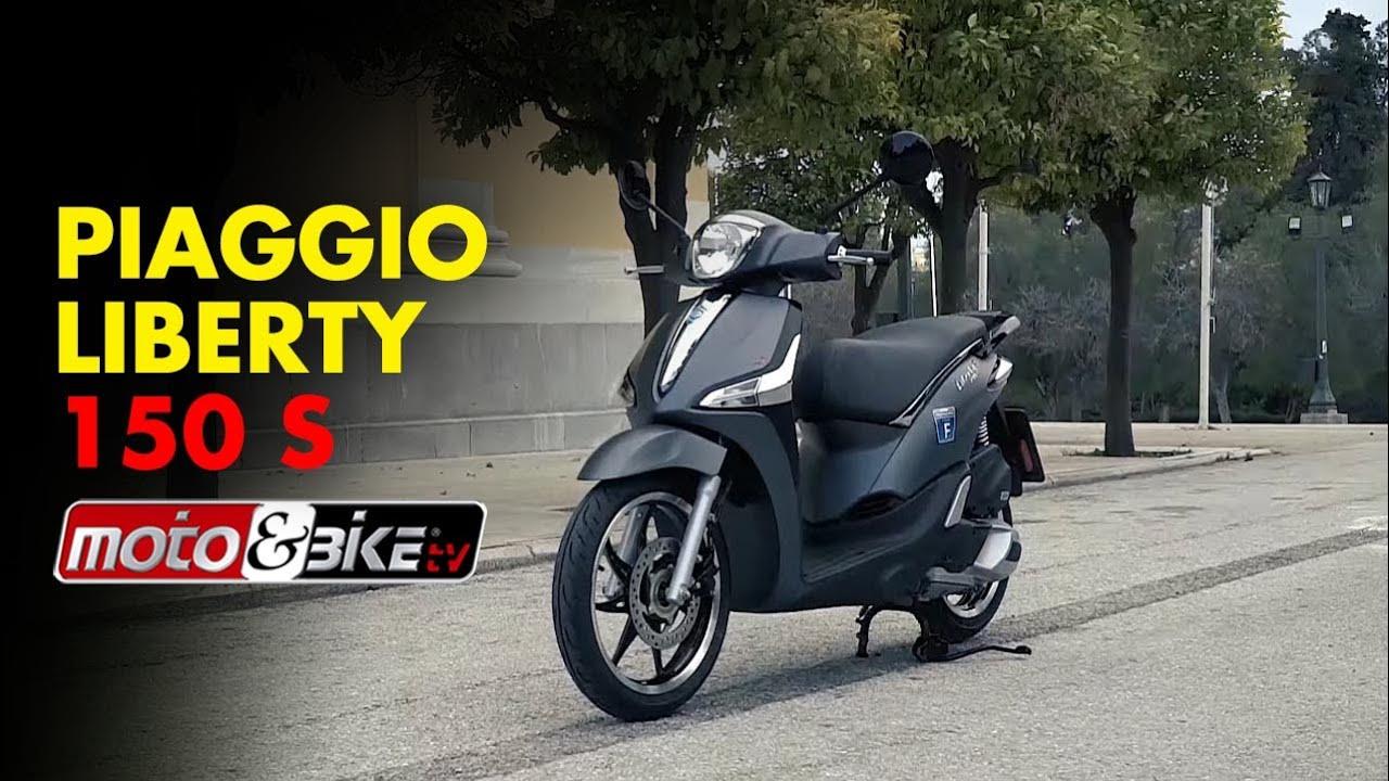 piaggio liberty 150 s test ride - youtube