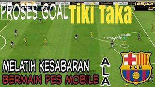 Game Play Tiki Taka Ala Barcelona | Pes Mobile 2019 android