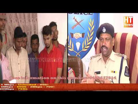 ten arrested for malpractice during SSC exams - kamtipura police limits,Hyderabad 2017