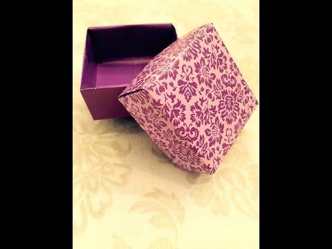 papierschachteln falten schachtel falten aus papier doovi. Black Bedroom Furniture Sets. Home Design Ideas