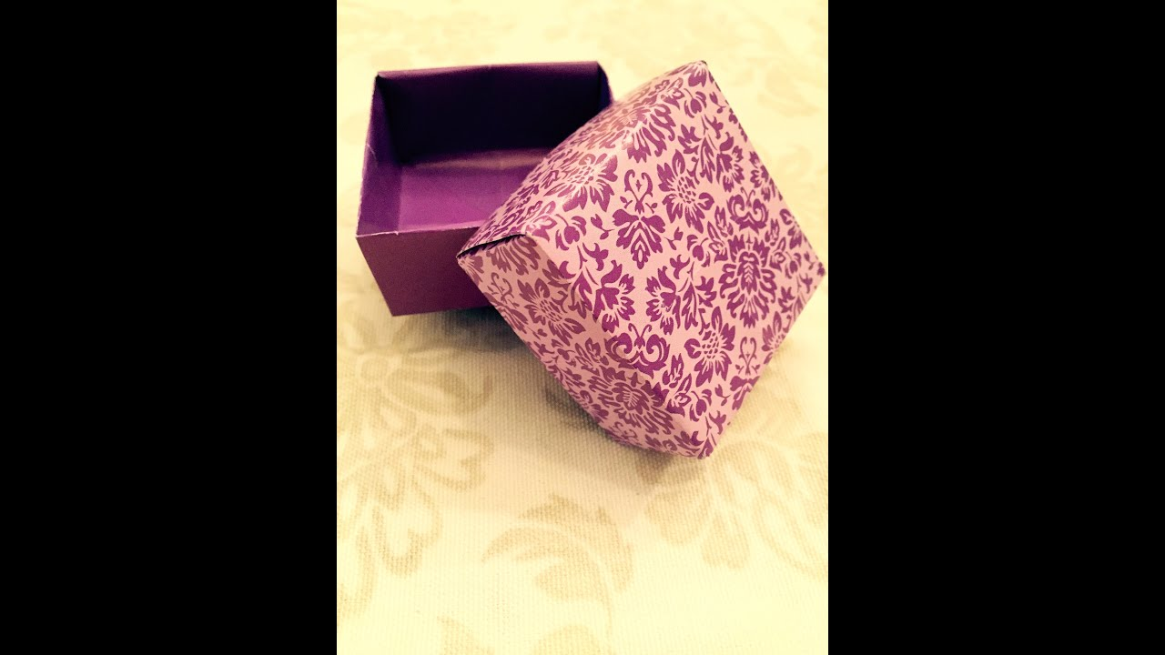 schachtel falten geschenkverpackung origami geschenke. Black Bedroom Furniture Sets. Home Design Ideas